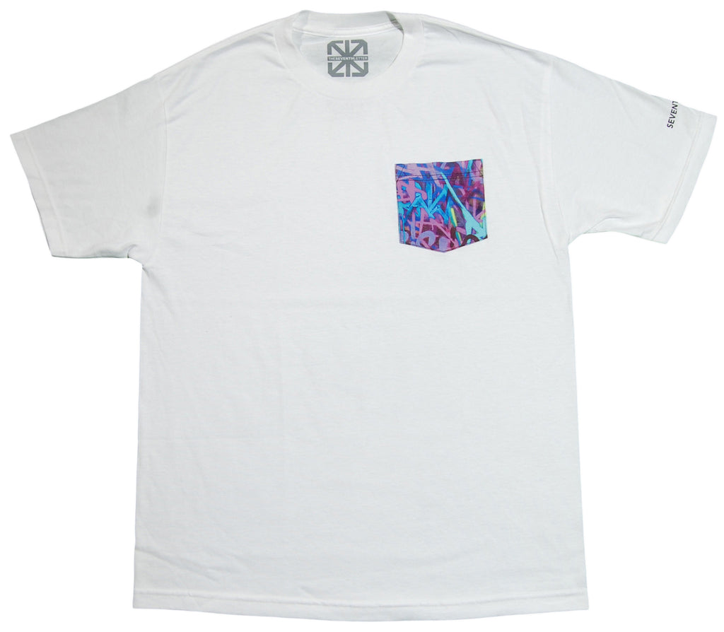 <!--2013041631-->The Seventh Letter - 'Tag' [(White) T-Shirt]