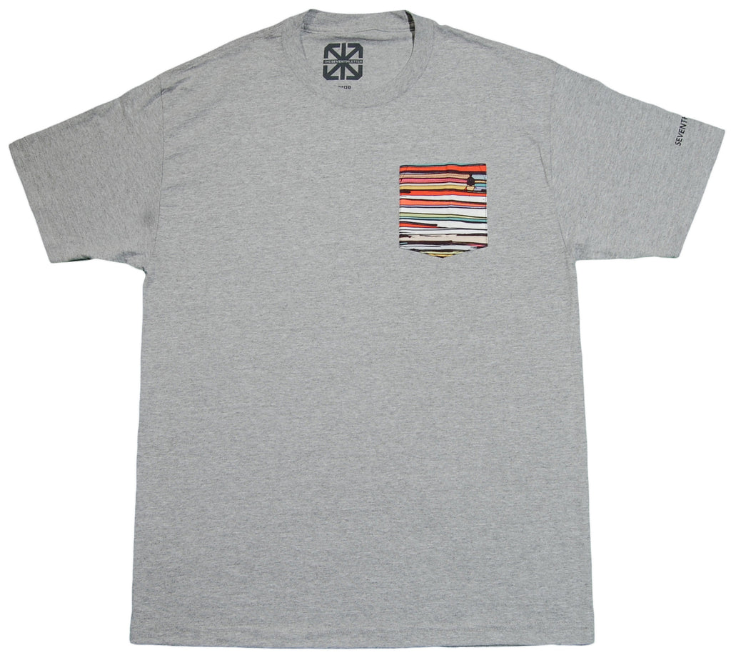 <!--2013041601-->The Seventh Letter - 'Lines' [(Gray) T-Shirt]