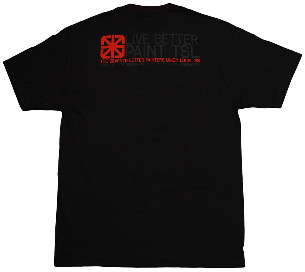 <!--2013041613-->The Seventh Letter - 'Union' [(Black) T-Shirt]