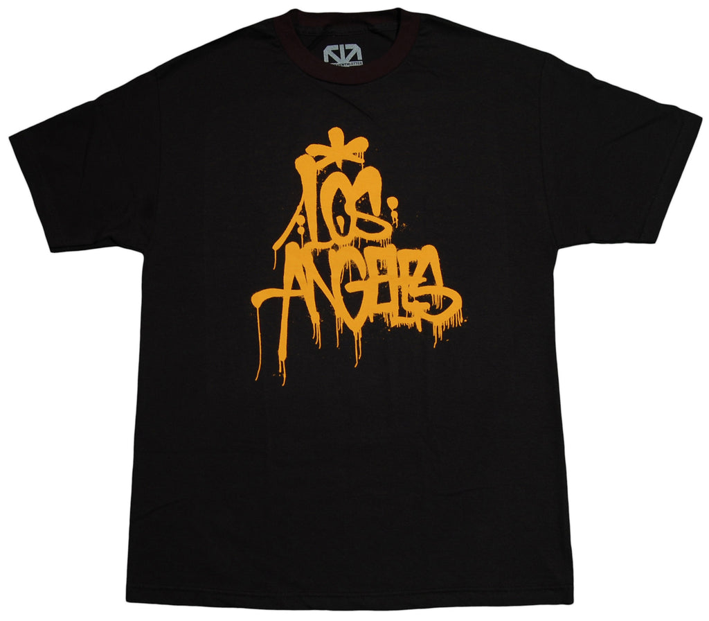 <!--2013041633-->The Seventh Letter - 'LA' [(Black) T-Shirt]