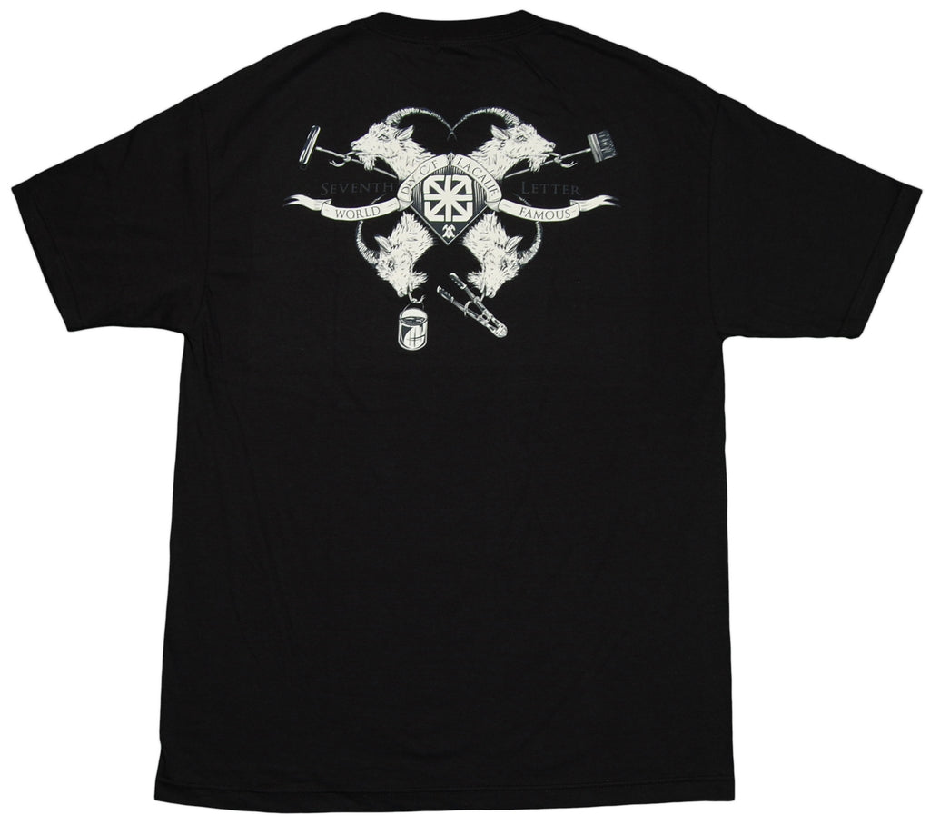 <!--2012091814-->The Seventh Letter x Division Creative Foundry - 'Goat' [(Black) T-Shirt]