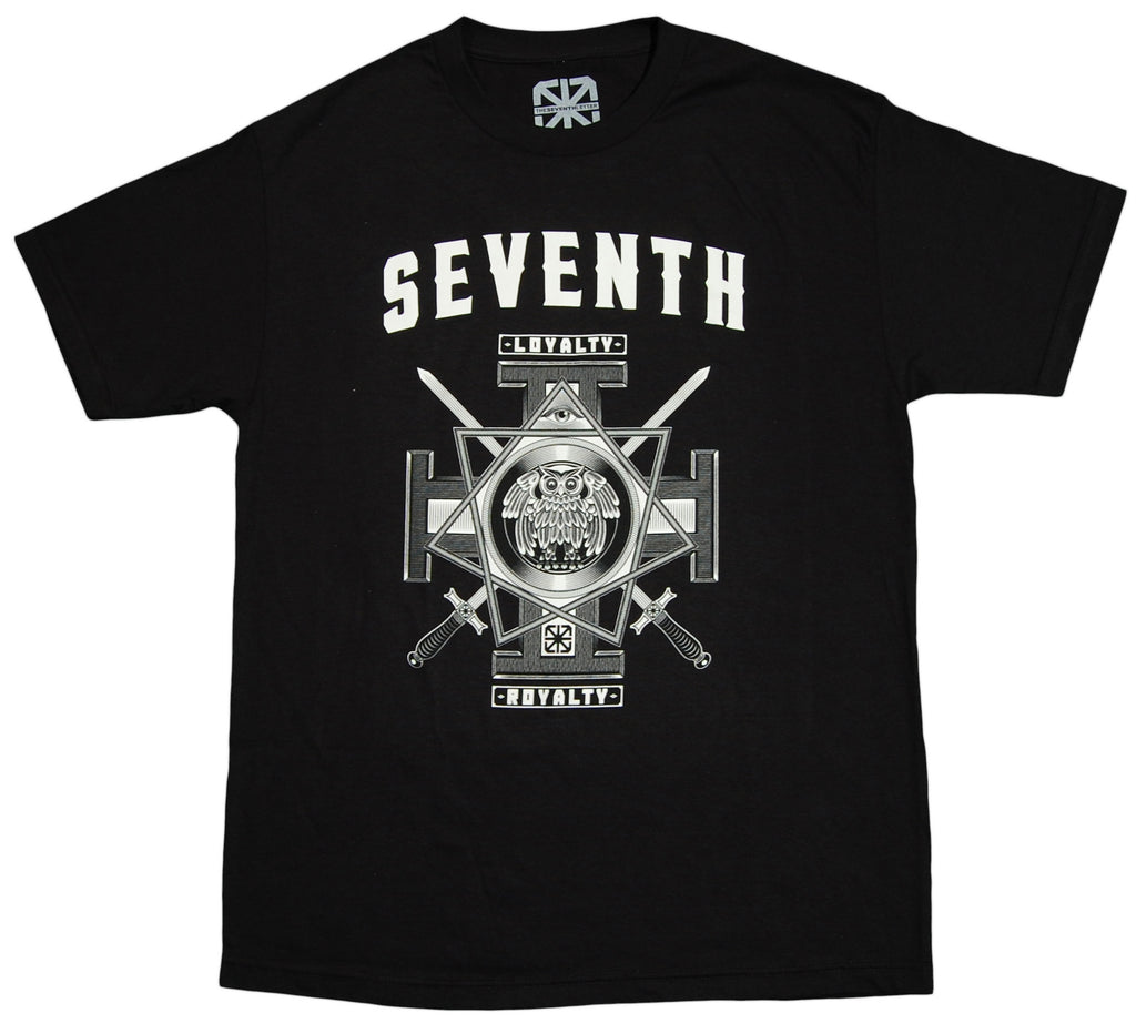 <!--2012091836-->The Seventh Letter - 'Owl' [(Black) T-Shirt]