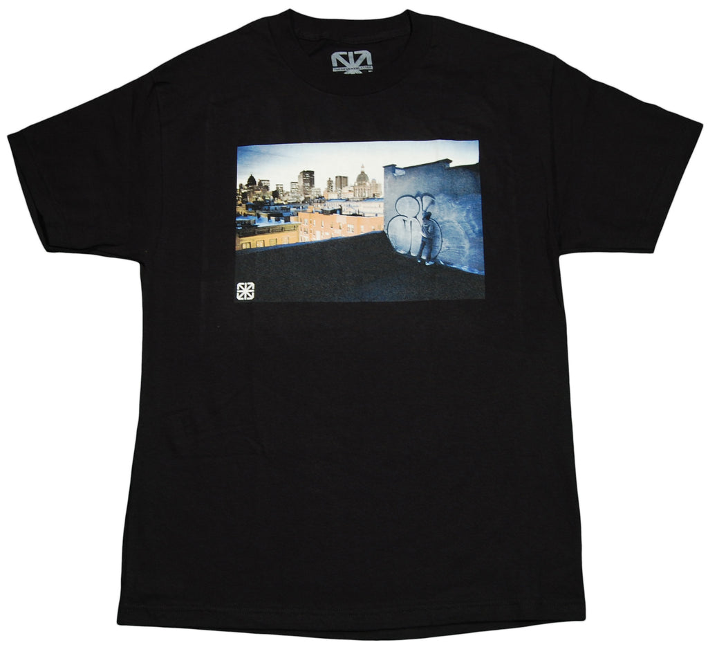<!--2011112200-->The Seventh Letter (Keegan Gibbs x Augor) - 'Skyline' [(Black) T-Shirt]