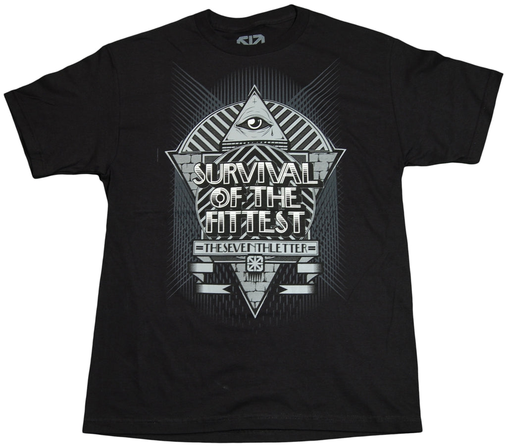 <!--2011061442-->The Seventh Letter - 'Survival Of The Fittest' [(Black) T-Shirt]