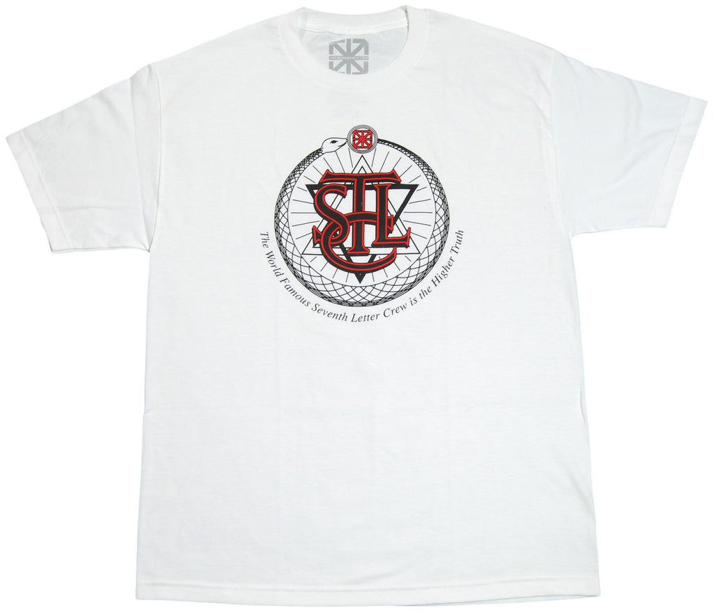 <!--2012022839-->The Seventh Letter - 'Higher Truth' [(White) T-Shirt]