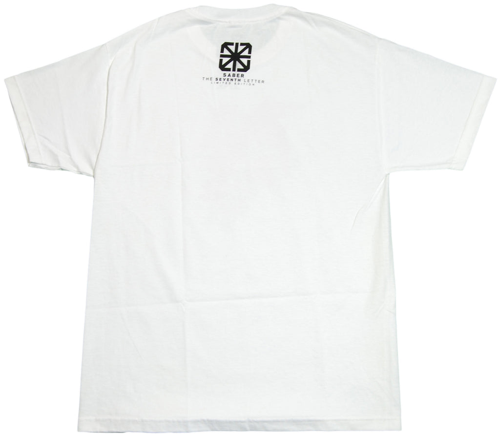 <!--2012022826-->The Seventh Letter - 'Ripped Tags' [(White) T-Shirt]