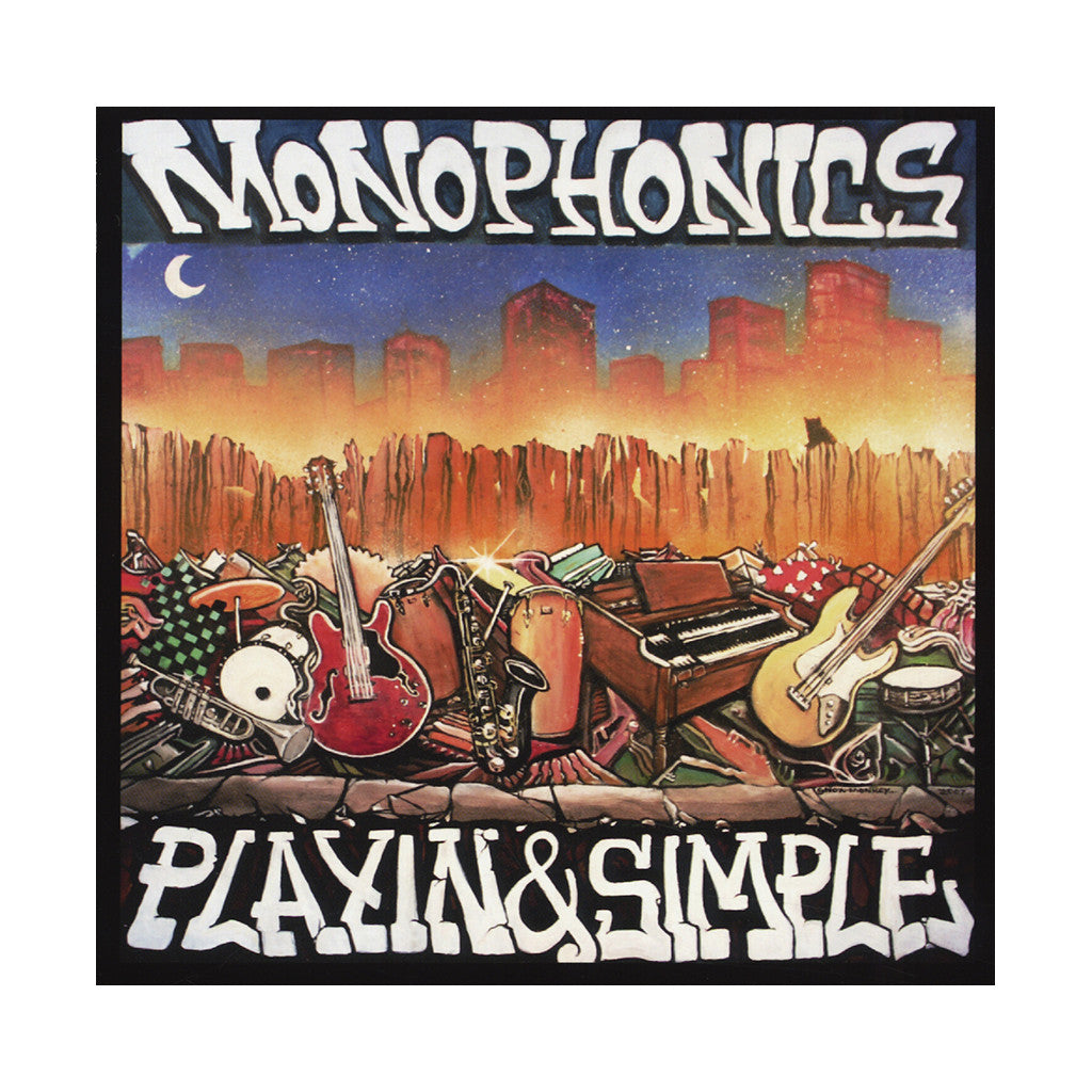 Monophonics - 'Playin' & Simple' [CD]