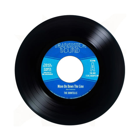 "The Dontells - 'Move On Down/ There Goes A Fool' [(Black) 7"""" Vinyl Single]"