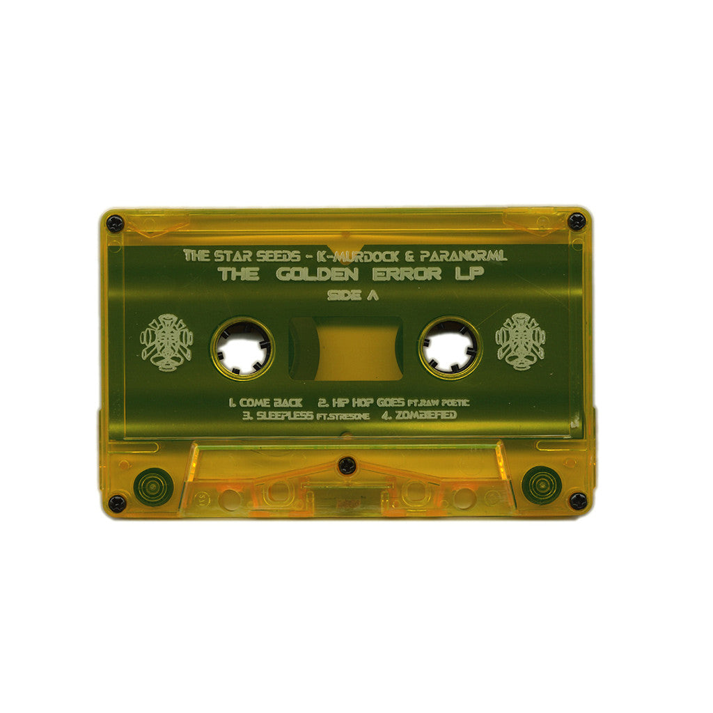 <!--2014041547-->The Star Seeds - 'The Golden Error LP' [(Clear Gold) Cassette Tape]