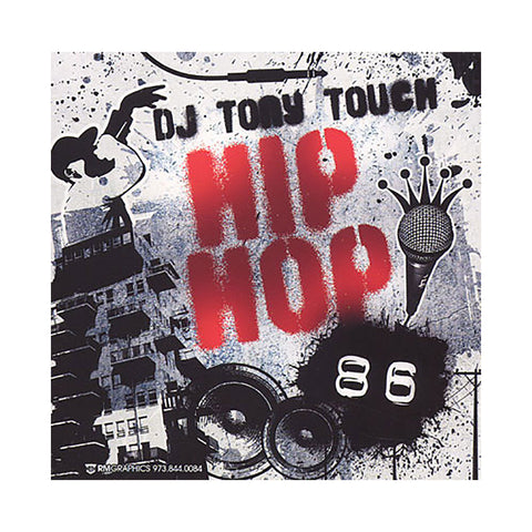 Tony Touch - 'Hip Hop # 86' [CD]