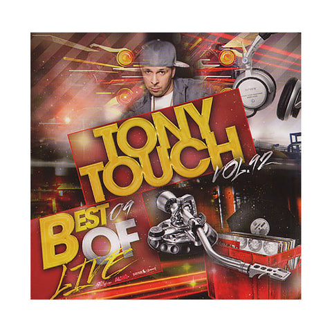 Tony Touch - 'Hip Hop # 92: Best Of Live' [CD]