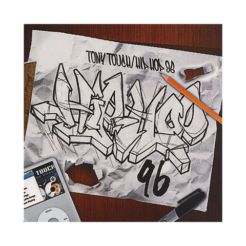 Tony Touch - 'Hip Hop # 96' [CD]
