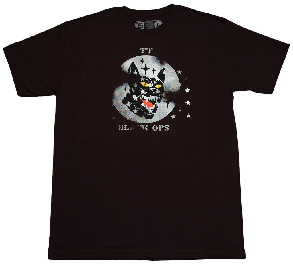 <!--2012061246-->Tank Theory - 'Black Ops' [(Black) T-Shirt]