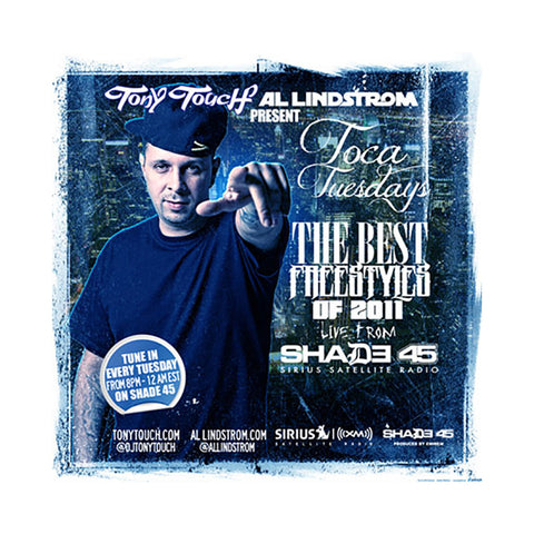 Tony Touch - 'Toca Tuesdays - The Best Freestyles Of 2011' [CD]