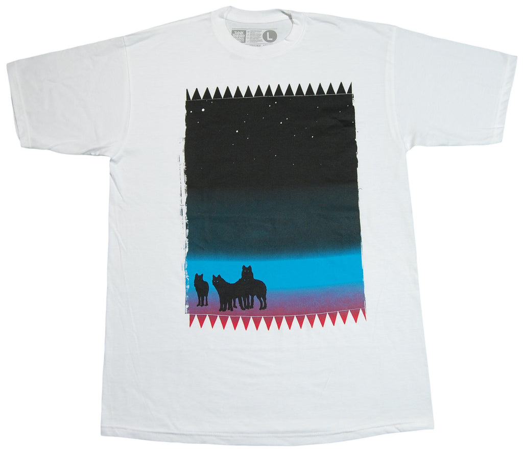 <!--2012061215-->Tank Theory - 'Night Vision' [(White) T-Shirt]