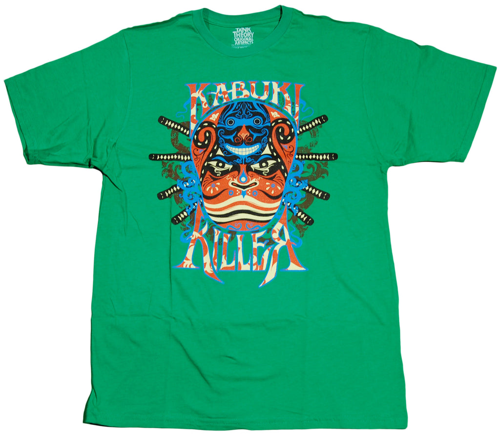 <!--2011070545-->Tank Theory - 'Kabuki Killer' [(Green) T-Shirt]