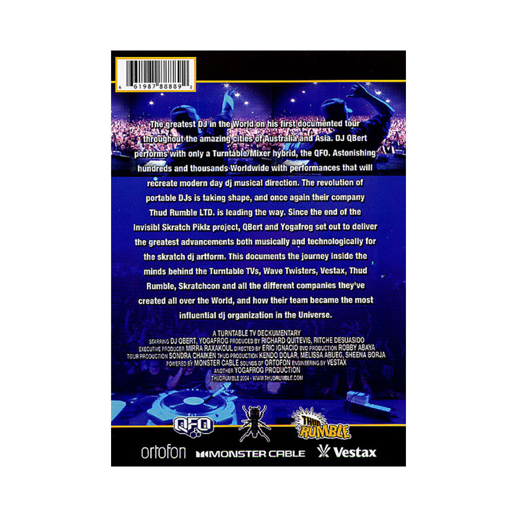 <!--020040101006313-->DJ Q-Bert - 'Live In Australia & Asia (Turntable TV Presents)' [DVD]