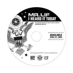 Mr. Lif - 'I Heard It Today' [CD]