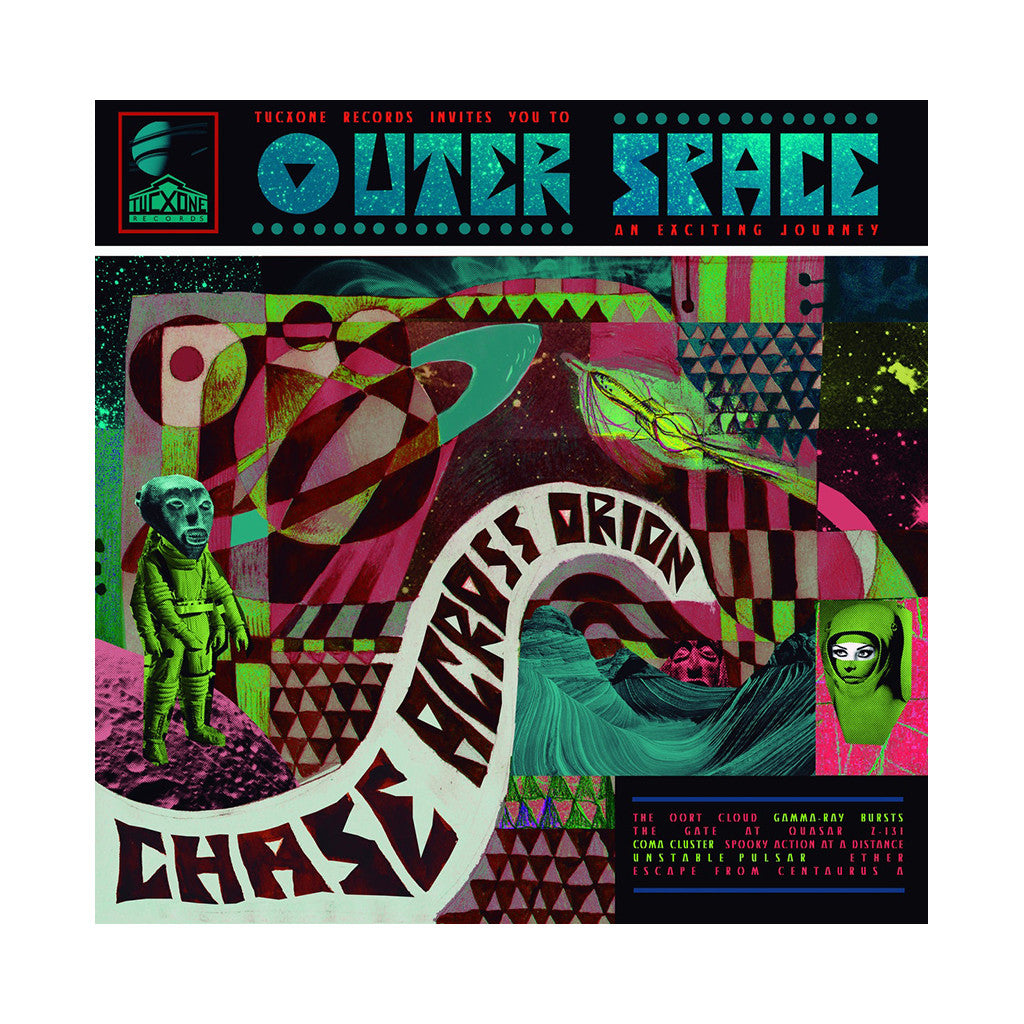 Outer Space - 'Chase Across Orion' [CD]