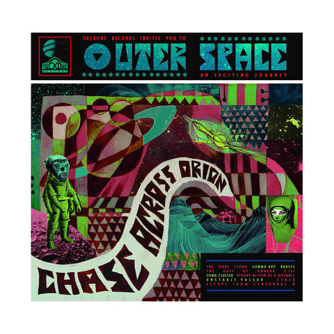 Outer Space - 'Chase Across Orion' [(Black) Vinyl LP]