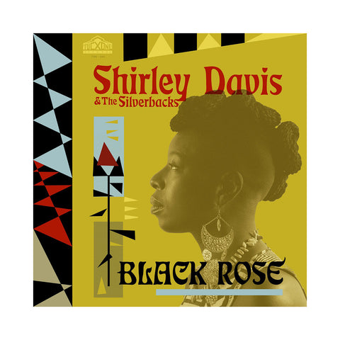 Shirley Davis & The Silverbacks - 'Black Rose (THIS IS A RE-STOCK)' [(Black) Vinyl LP]
