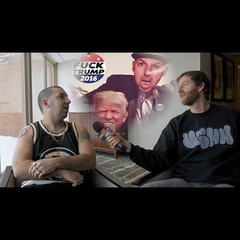 Termanology - 'Termanology on Donald Trump, Snapchat Generation & Political Apathy (Psycho Les of Beatnuts Cameo)' [Video]
