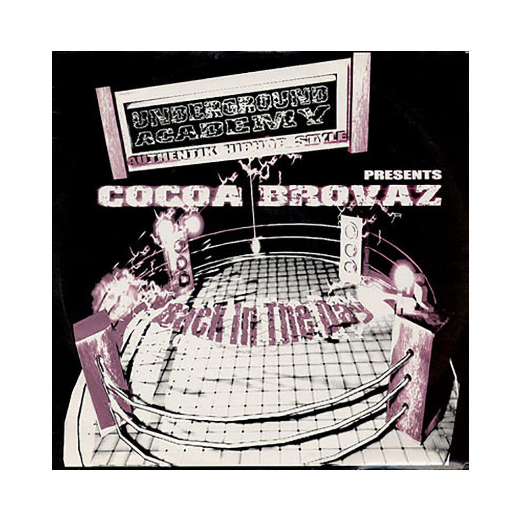 "Cocoa Brovaz - 'Back In The Day/ Back In The Day (Remix)' [(Black) 12"" Vinyl Single]"