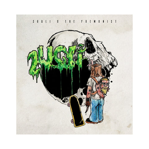 "[""2UGLi & The Premonist - 'Leaving My Mark' [(Black) Vinyl LP]""]"