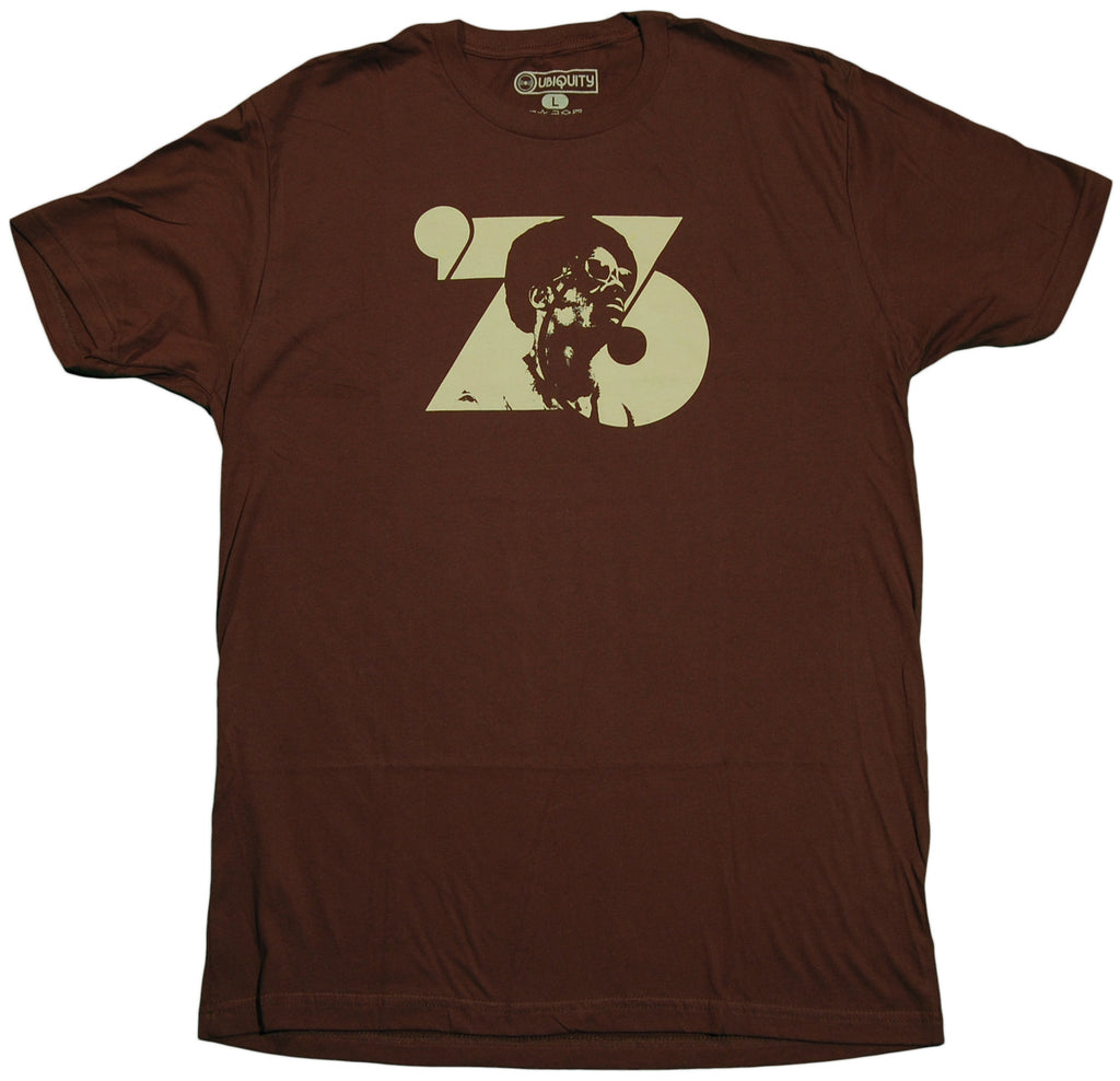 <!--2011101848-->Ubiquity Recordings - '76' [(Brown) T-Shirt]