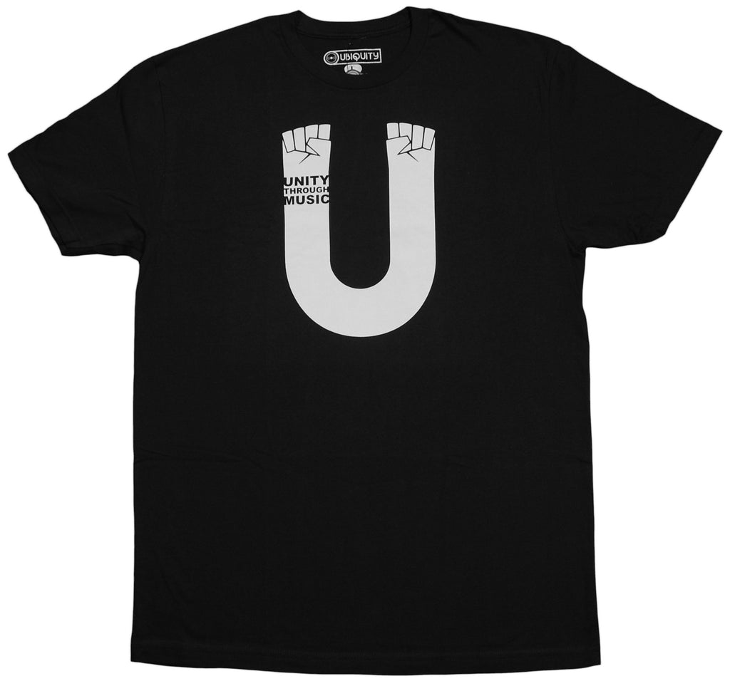 <!--2011101814-->Ubiquity Recordings - 'Unity' [(Black) T-Shirt]
