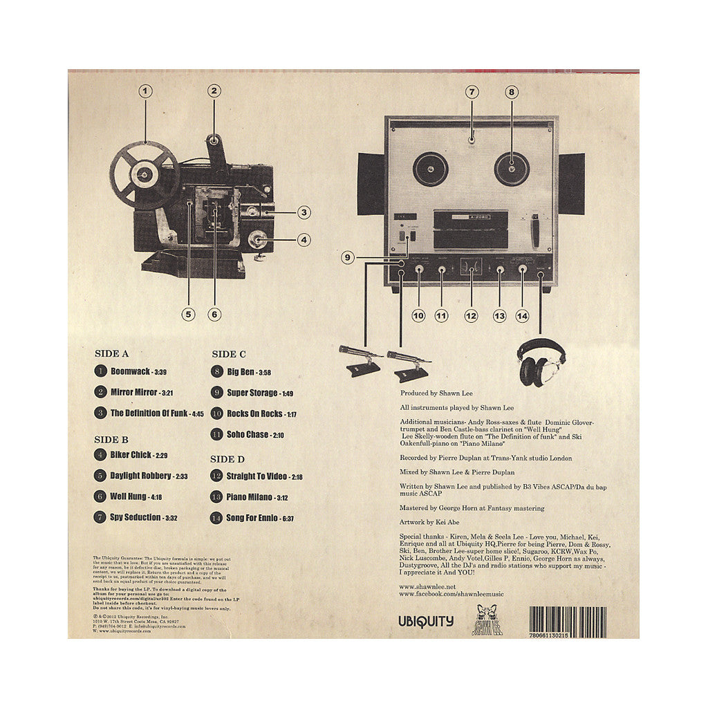 <!--120120717044961-->Shawn Lee's Ping Pong Orchestra - 'Reel To Reel' [(Black) Vinyl [2LP]]