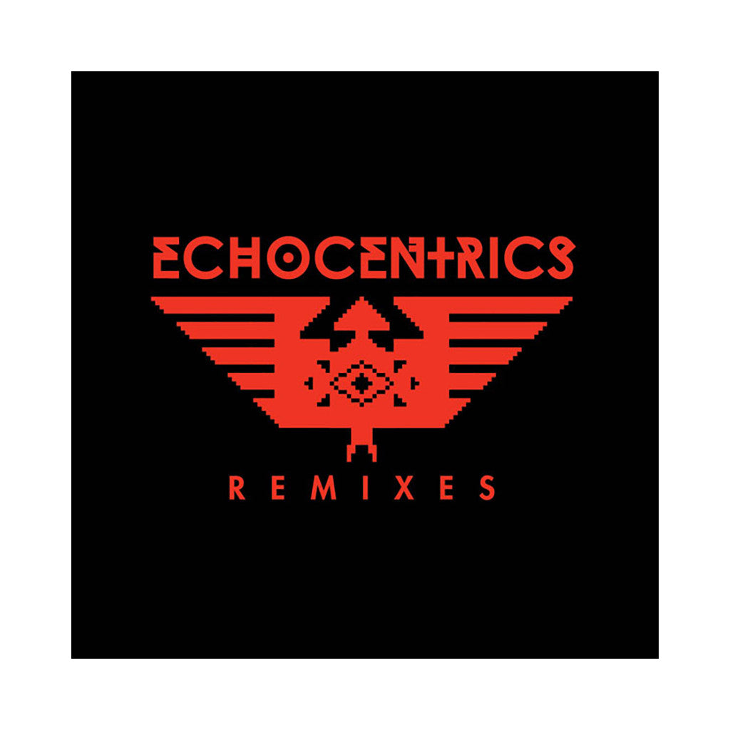 "The Echocentrics - 'Don Alejo (Remix)/ Dudar (Remix)/ Pioneira' [(Black) 12"" Vinyl Single]"