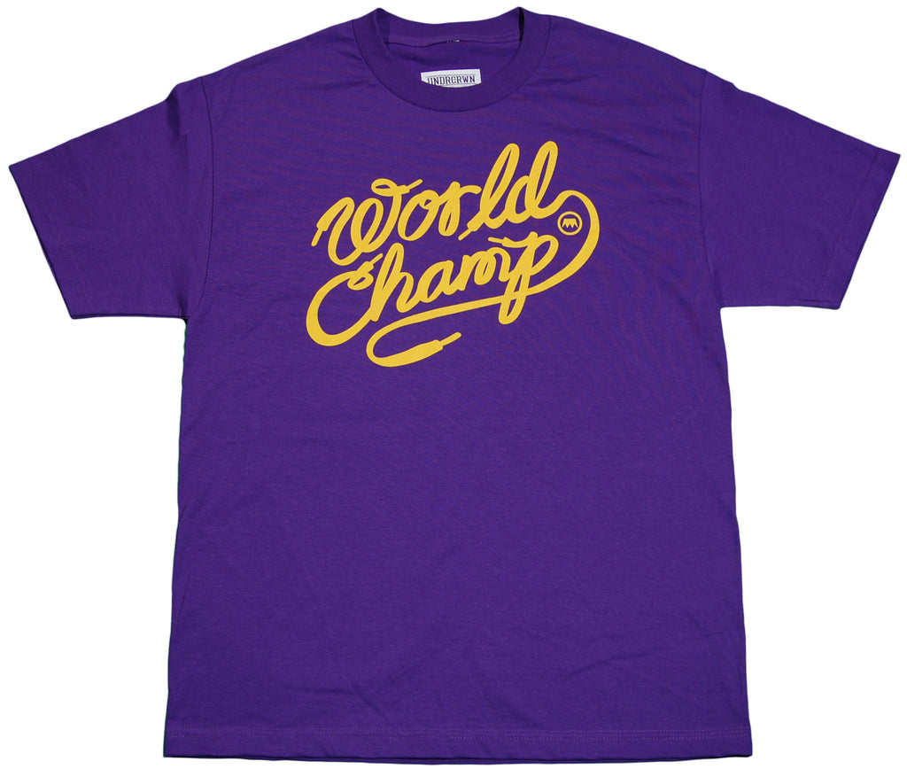 Undrcrwn - 'SNKR Champ' [(Purple) T-Shirt]