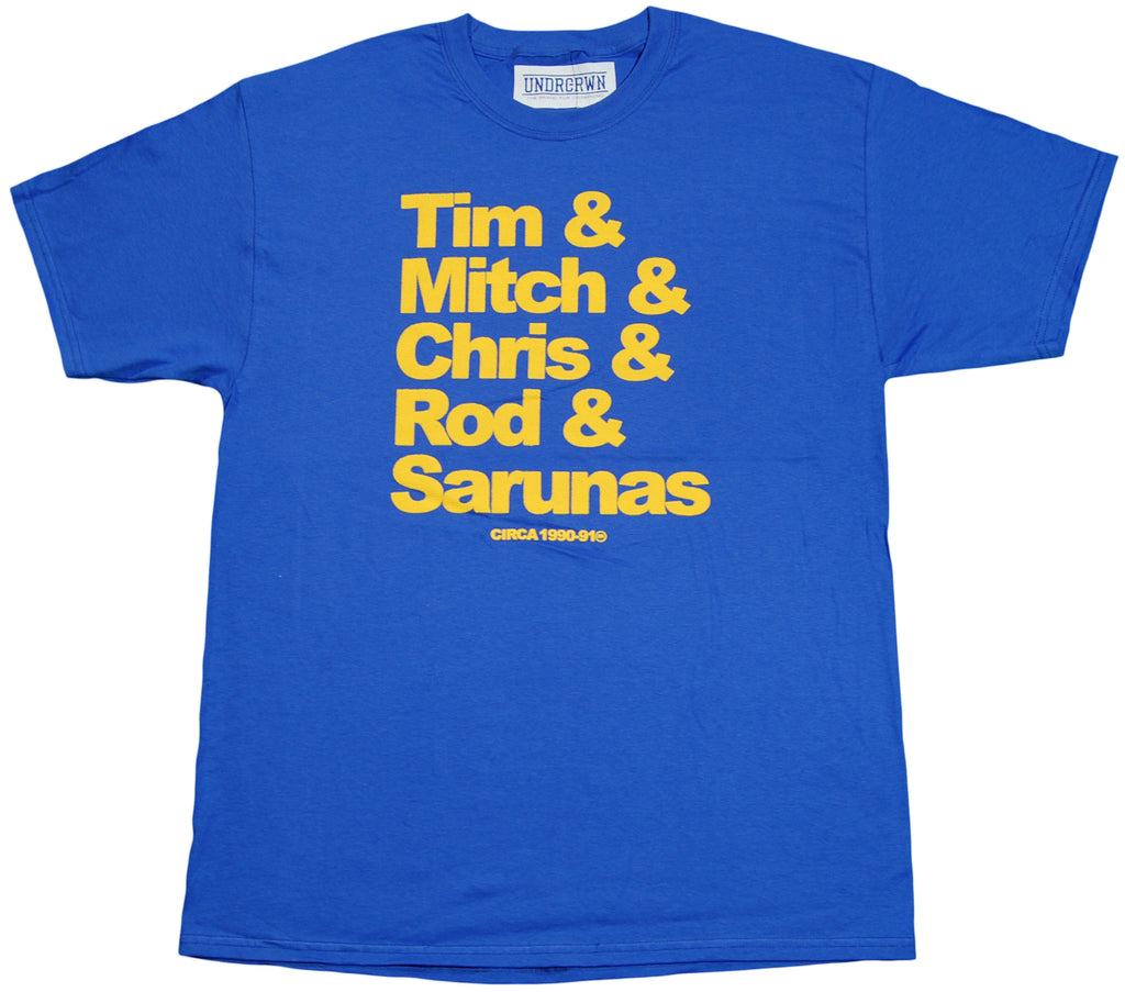 <!--2011101848-->Undrcrwn (Golden State Warriors) - 'Run TMC Dynasty' [(Blue) T-Shirt]