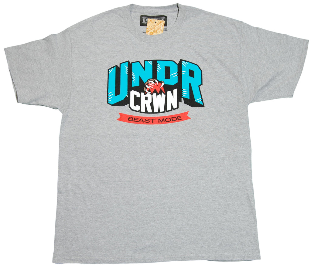 <!--2011121338-->Undrcrwn - 'Beast Mode' [(Gray) T-Shirt]