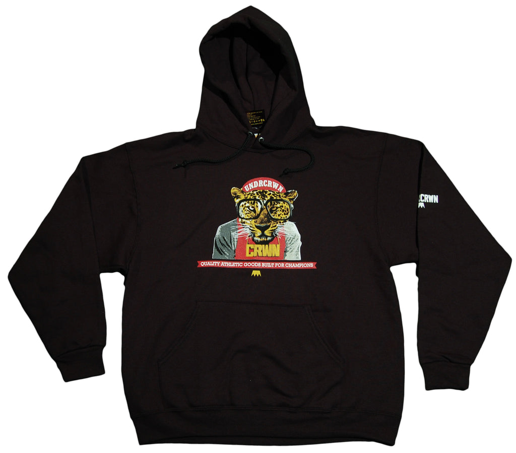 <!--2011121339-->Undrcrwn - 'Gotta Be The CRWN' [(Black) Hooded Sweatshirt]