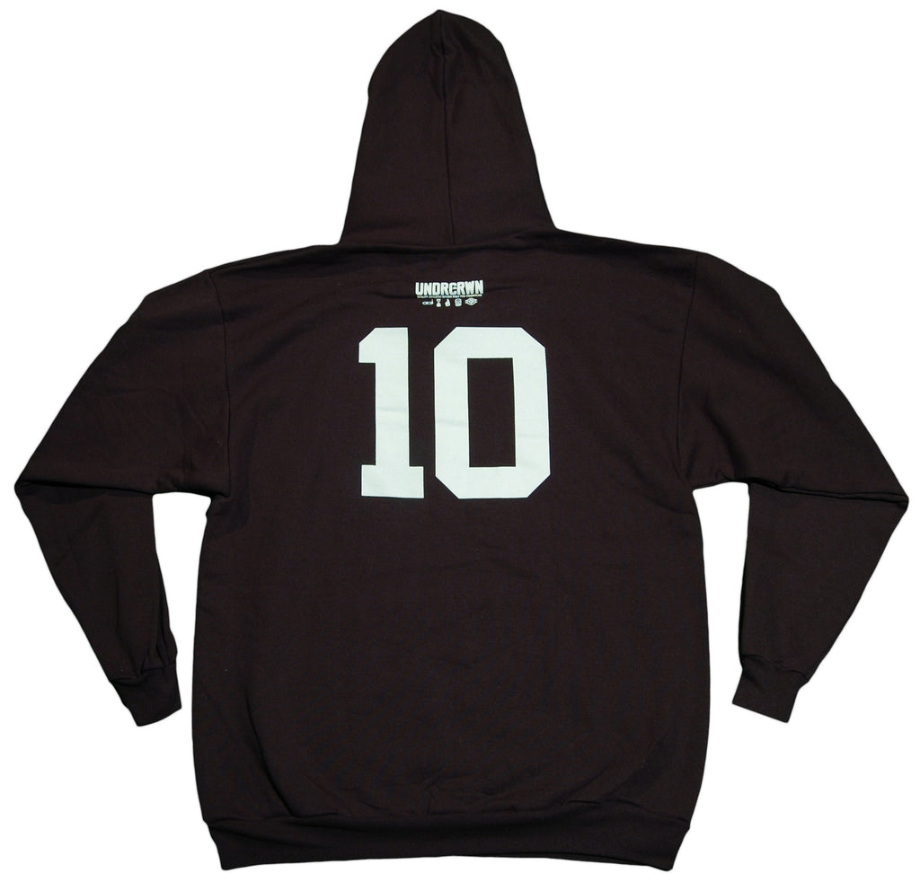 <!--2011121323-->Undrcrwn - 'Point Runner' [(Black) Hooded Sweatshirt]