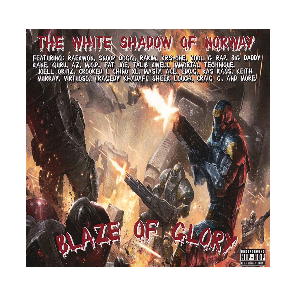 The White Shadow Of Norway - 'Blaze Of Glory' [CD]
