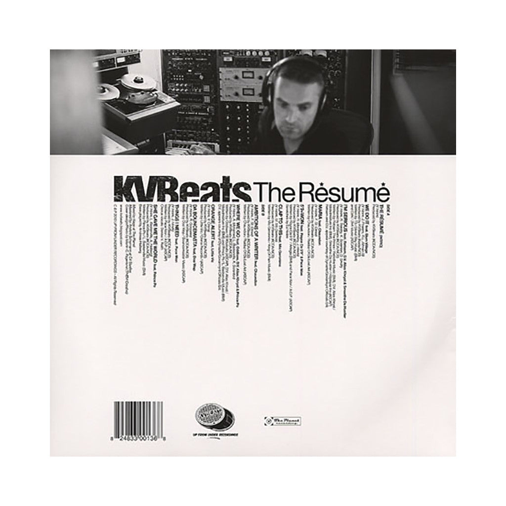 KVBeats - 'The Resume' [(Blue) Vinyl LP]