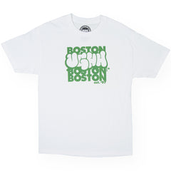 <!--120110830034126-->UGHH - 'Boston Repeat' [(White) T-Shirt]