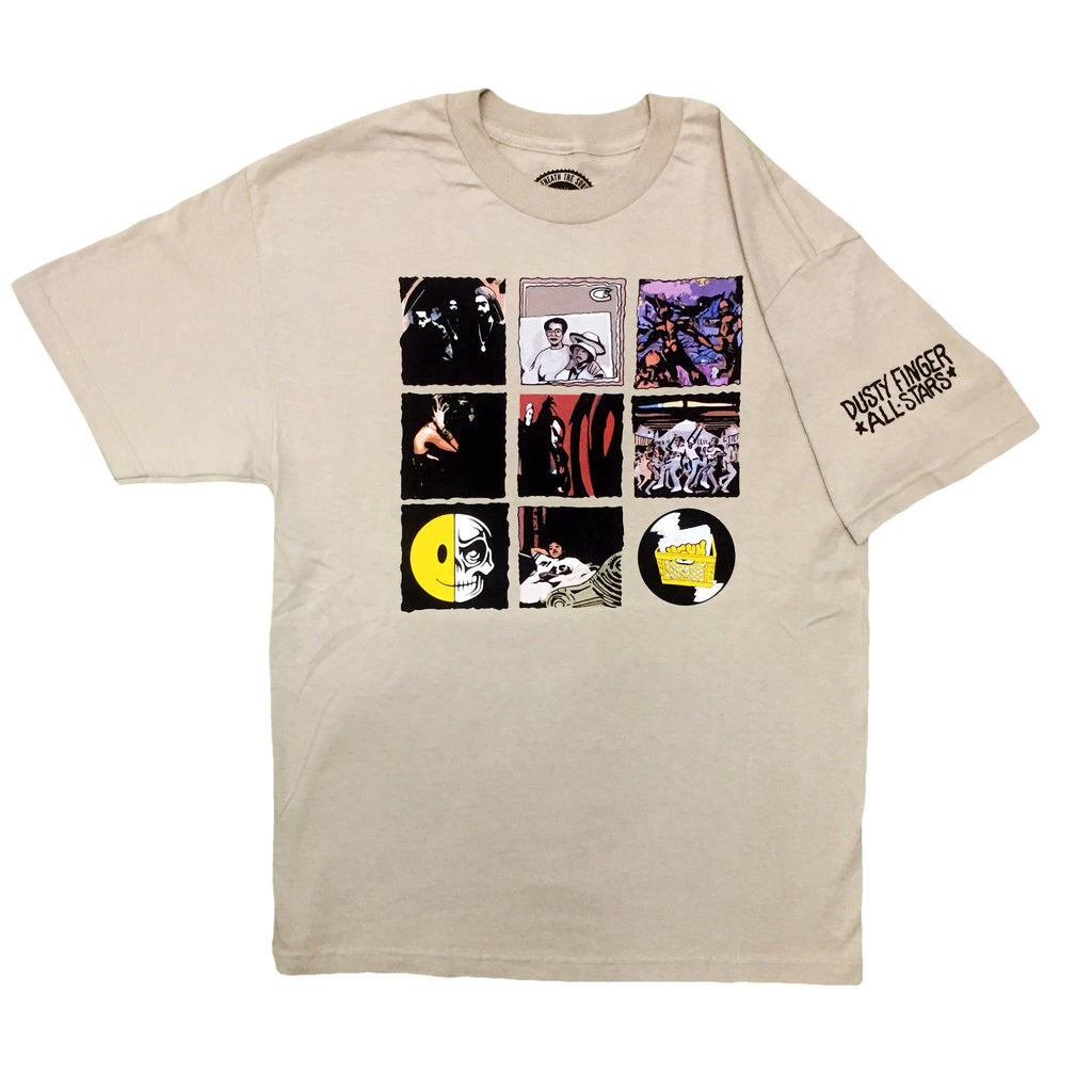 UGHH - 'T-Shirt 1997 Classic Album Covers' [(Light Brown) T-Shirt]