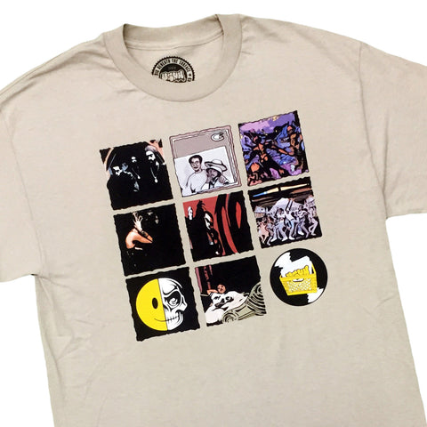 "[""UGHH - 'T-Shirt 1997 Classic Album Covers' [(Light Brown) T-Shirt]""]"