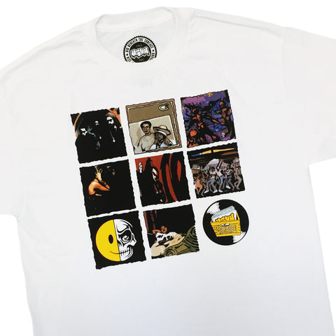 "[""UGHH - 'T-Shirt 1997 Classic Album Covers' [(White) T-Shirt]""]"