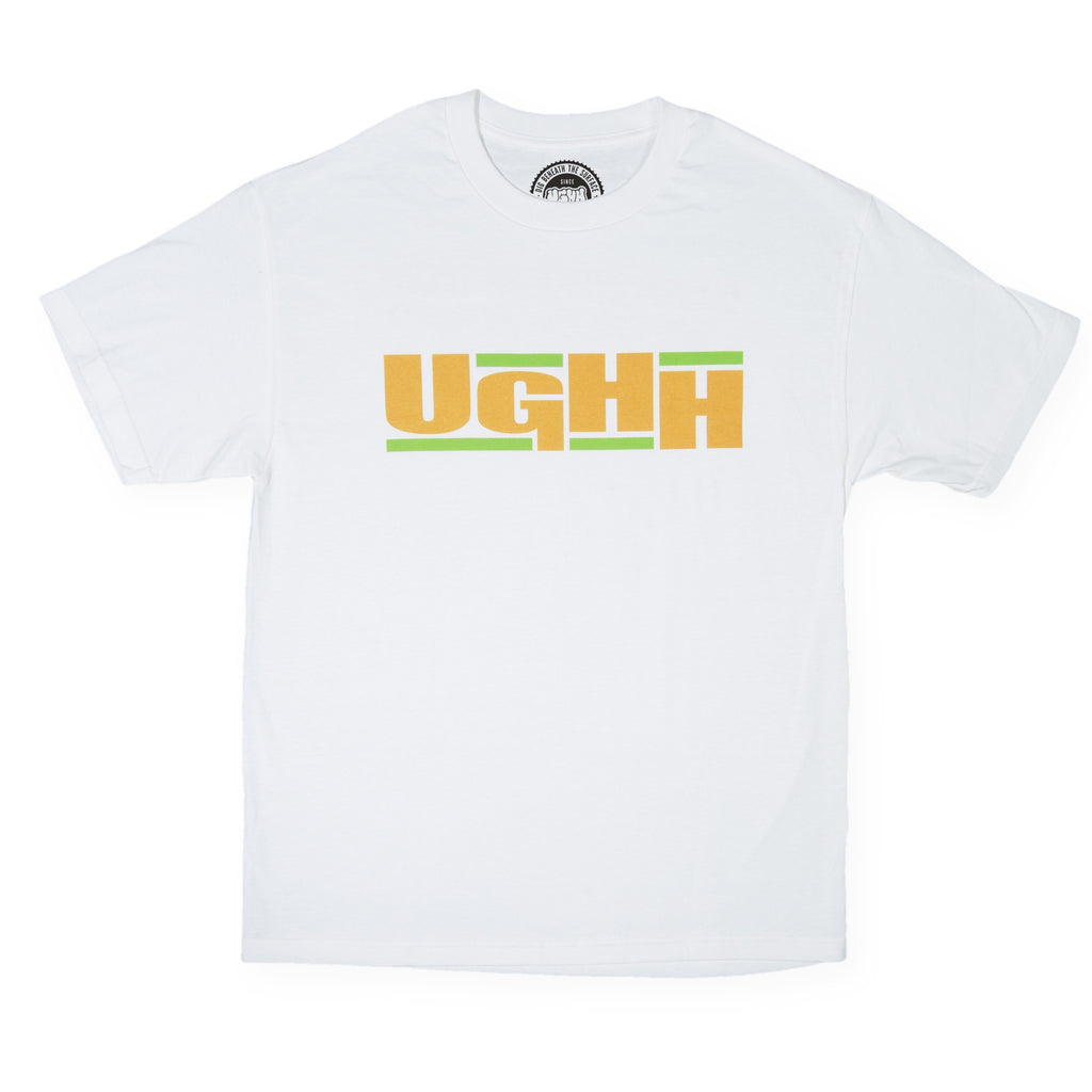 UGHH - 'T-Shirt UGHH In EPMD Style' [(White) T-Shirt]