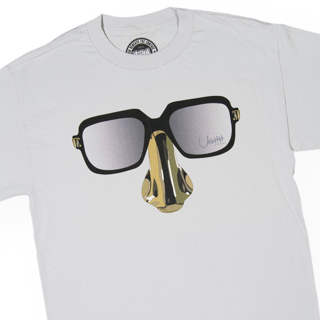 UGHH - 'T-Shirt Digital Underground Nose And Glasses' [(Light Gray) T-Shirt]