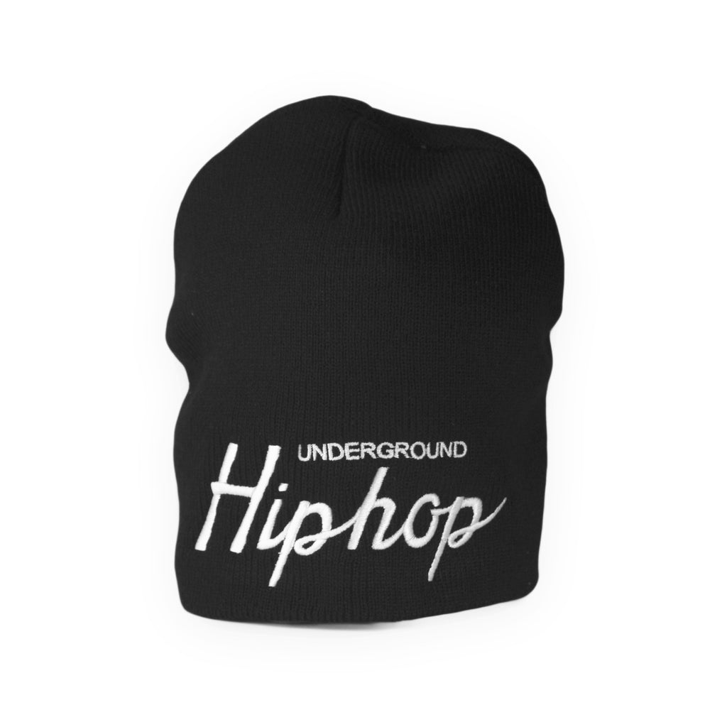 <!--120160212072229-->UGHH - 'Hip Hop Game Day' [(Black) Winter Beanie Hat]