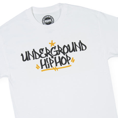 UGHH - 'Handstyle' [(White) T-Shirt]