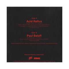 "ILL Bill - 'Acid Reflux/ Paul Baloff' [(Clear) 7"" Vinyl Single]"