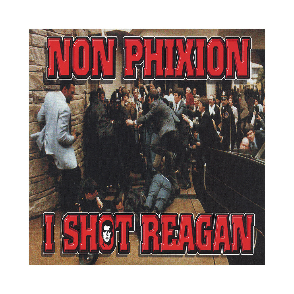 "<!--020130420054252-->Non Phixion - 'I Shot Reagan/ Refuse To Lose' [(Black) 7"" Vinyl Single]"