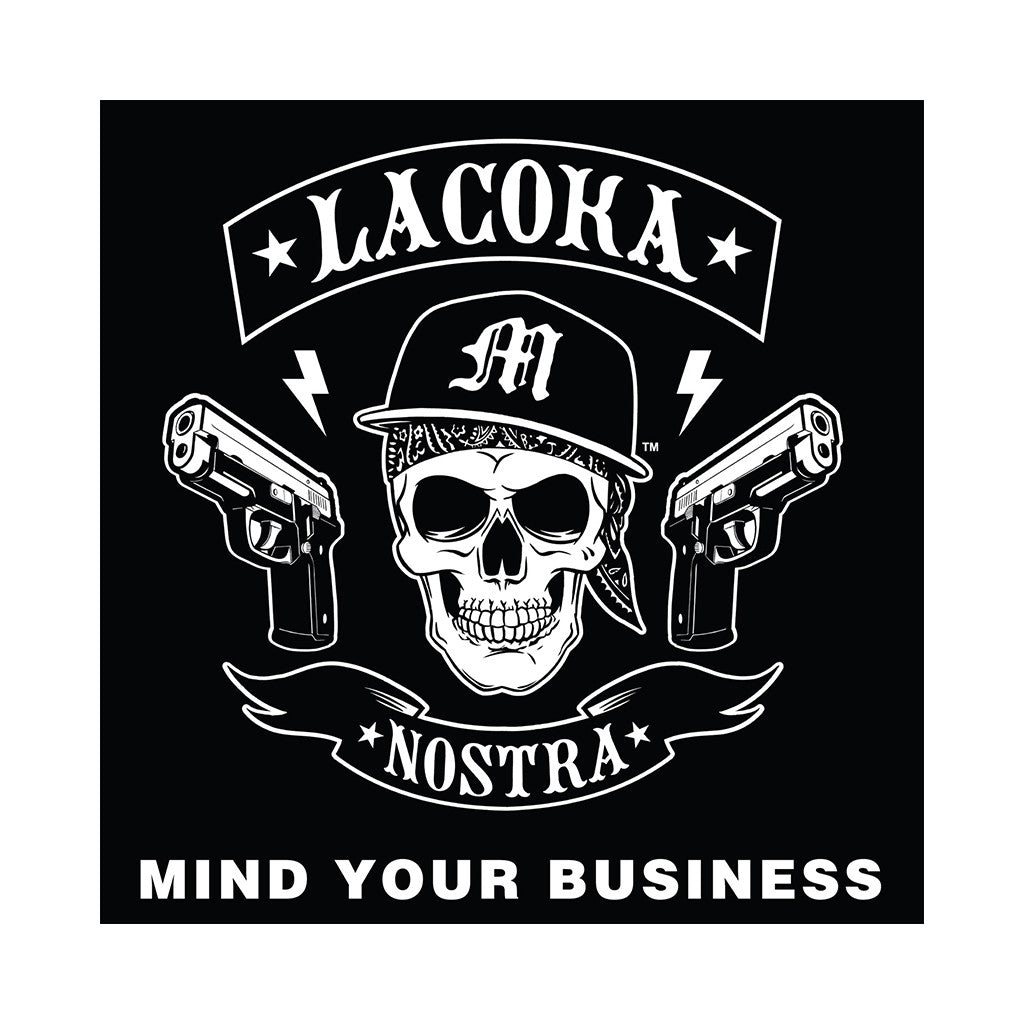 "<!--020140419062473-->La Coka Nostra - 'Mind Your Business' [(Clear) 7"" Vinyl Single]"